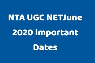 NTA UGC NETJune 2020