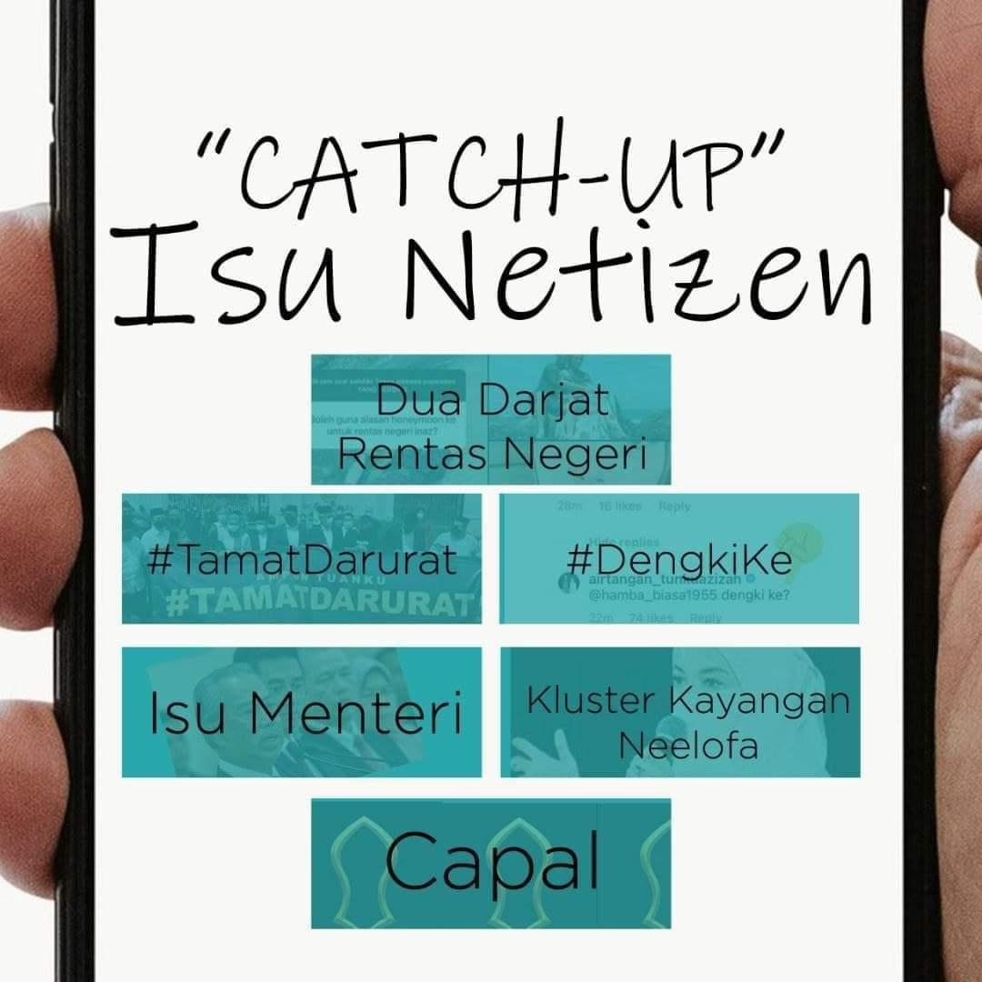 'CATCH-UP' ISU PANAS NETIZEN