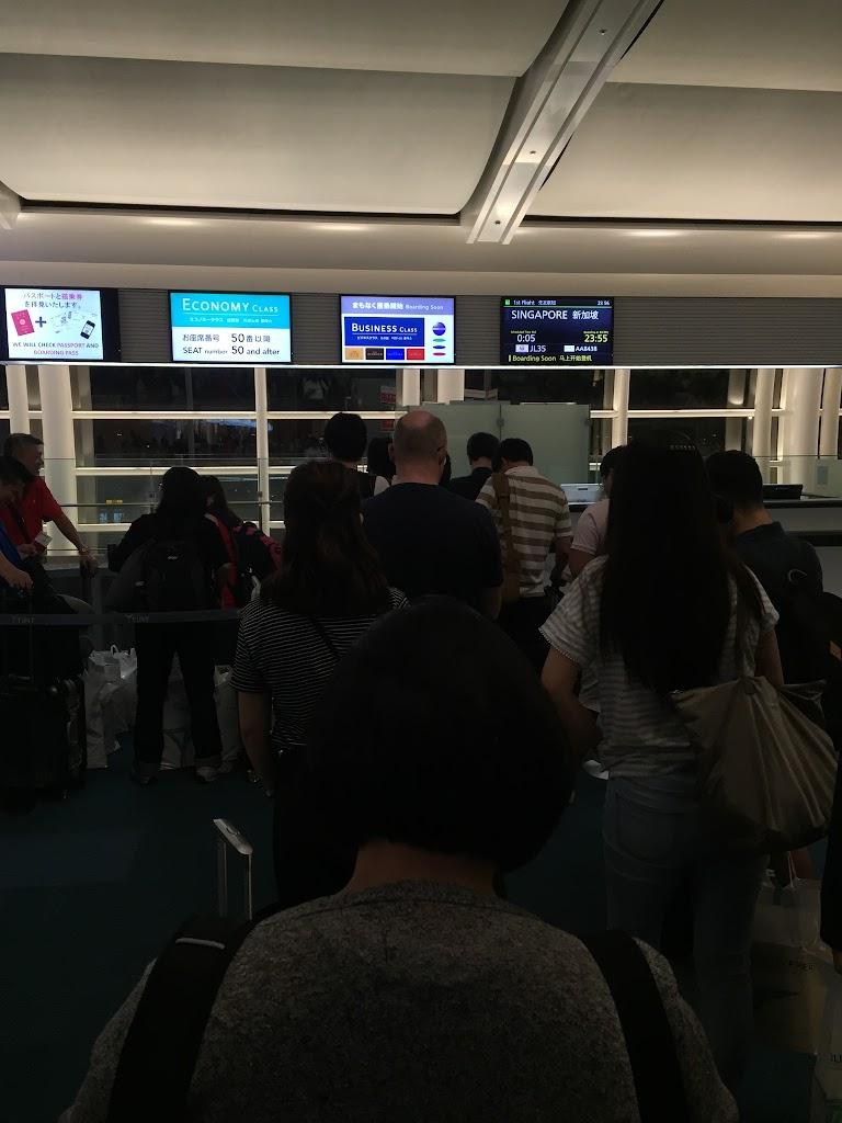 JAL035(JL035) 東京・羽田-シンガポール ビジネスクラス 2016年7月 | 機上百景