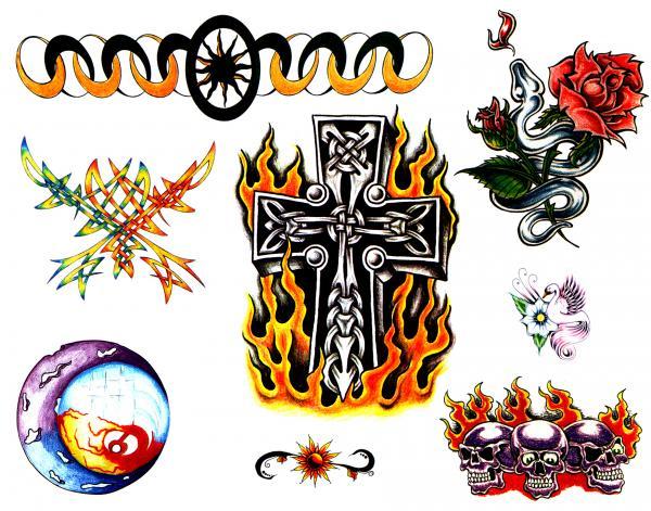 Design Of Horror Tattoo 1, Fantasy Tattoo Designs