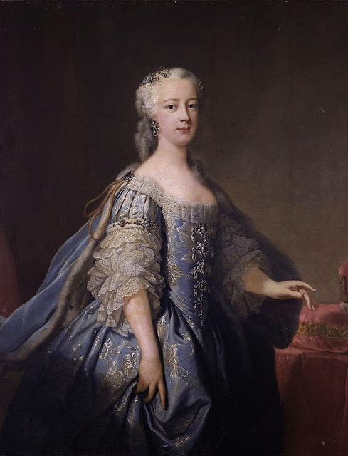 Jean-Baptiste van Loo - Princess Amellia of Great Britain (1711-1786)