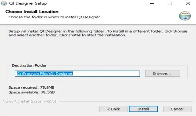 install Qt Designer