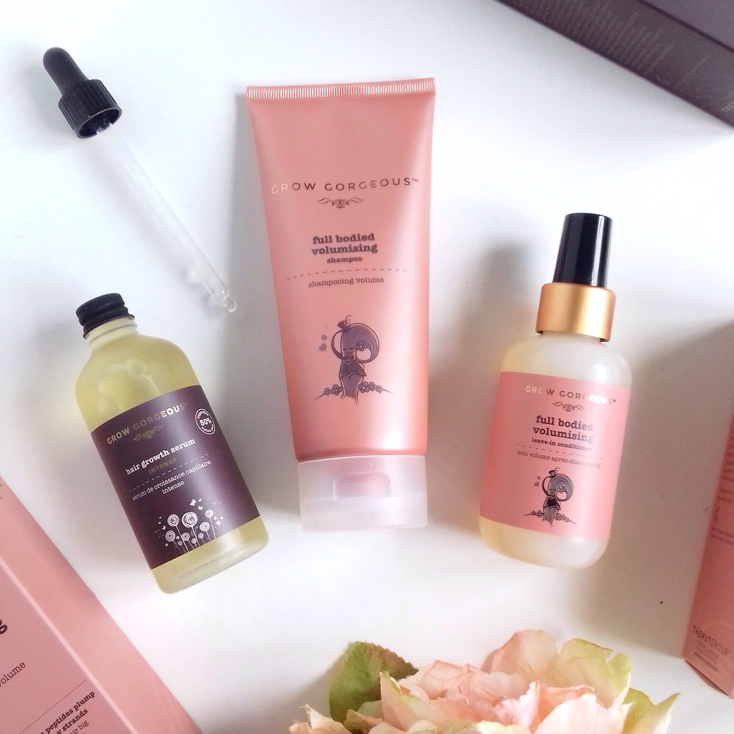 grow gorgeaous, haircare, review, hair groth serum, shampoo, leave-in conditioner