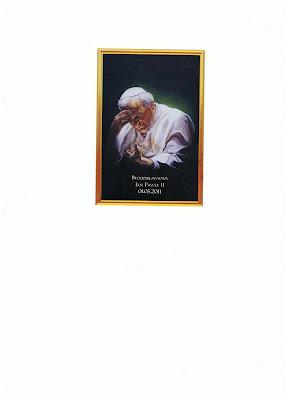 Obrazek z papieżem