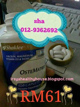 ostematrix shaklee kalsium lengkap vitamin D magnesium