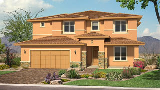 Willowbrook floor plan The Estates at Morrison Ranch by Pulte Homes