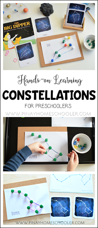 Hands-on Learning of Constellations for Preschoolers