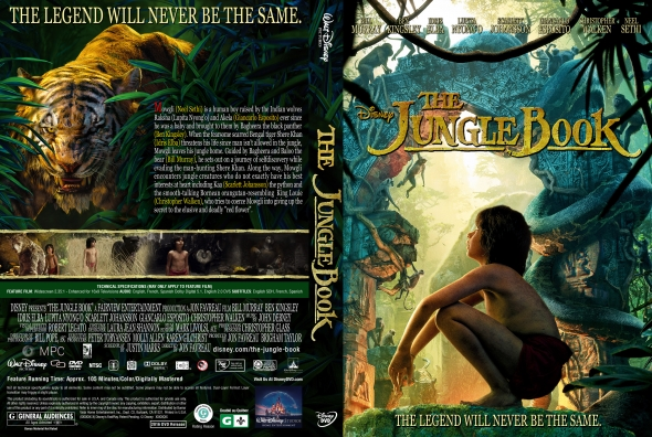 El Libro De La Selva – Castellano, Inglés – DVD9