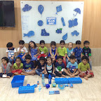 Celebration of Blue Day by Nursery Section ( 2016-17 ) at Witty World, Bangur Nagar