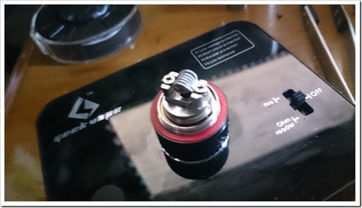 DSC 0029 thumb%25255B2%25255D - 初クラプトンコイルビルド!「Geek Vape Clapton Wire」でSubtank MiniのRBAを巻いてみた