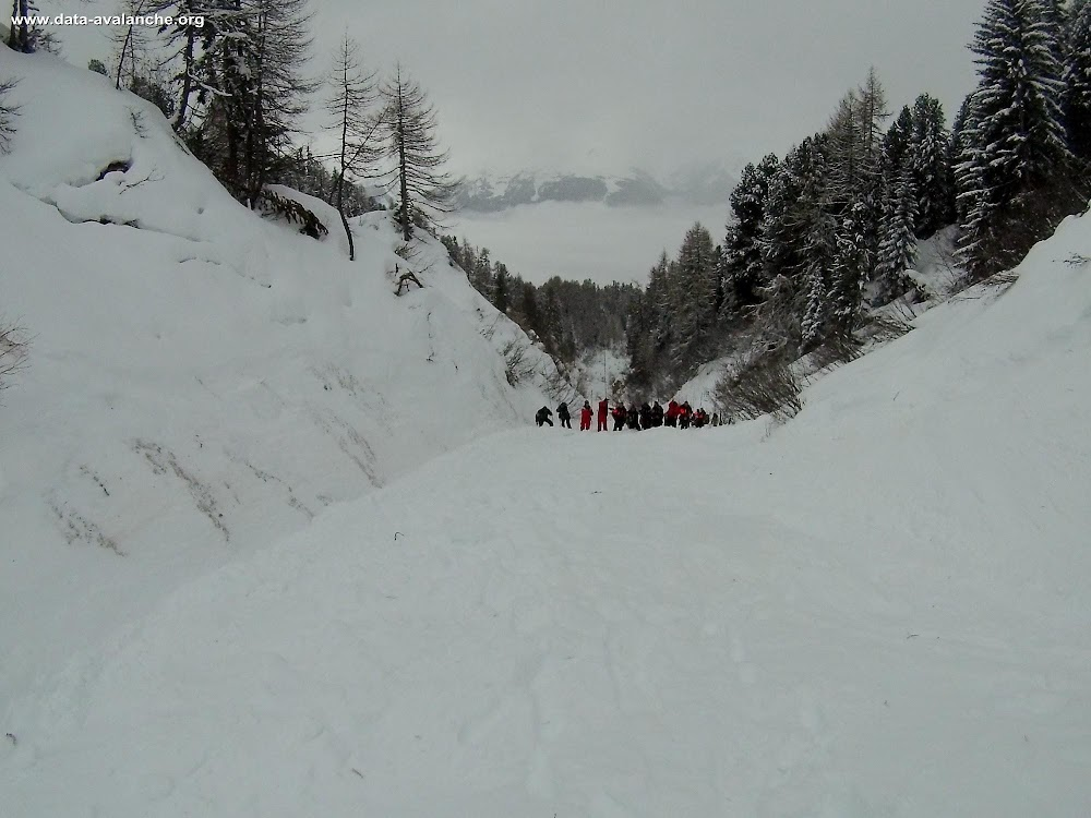 Avalanche Vanoise, secteur La Plagne, La Follie - Photo 1