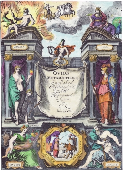 Titlepage From Ovid Metamorphoses Translated Sandys, Emblems Related To Alchemy
