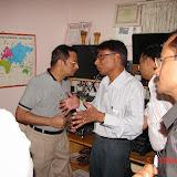 Demonstration of Amateur Radio Satellite communication to Mr Annadurai and Mr Raghavamurthy - DSC00124.JPG