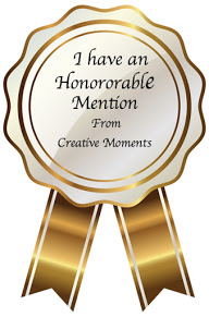 Honorable Mention at Creative Moments