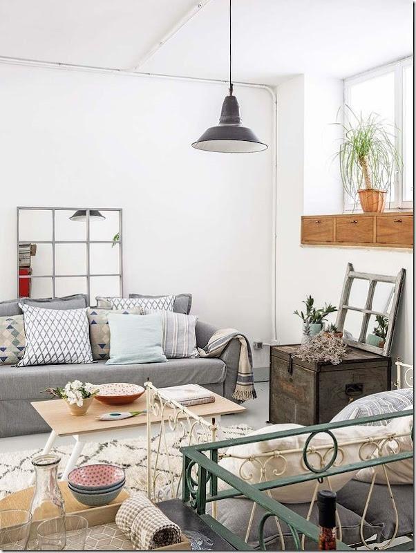 casa-loft-stile-boho-chic- industriale (9)