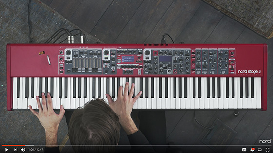 Official Nord Stage 3 product video now online | From UK