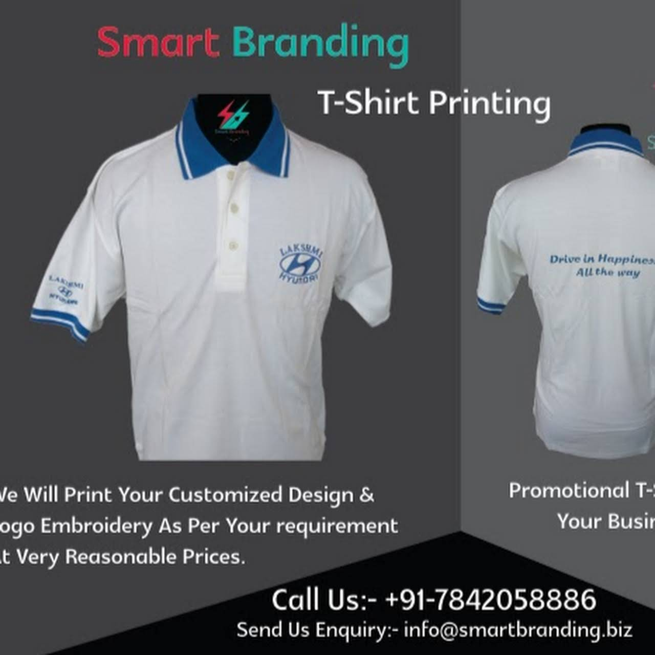 Smart Branding Solutions Corporate Gifts T Shirt Printing T