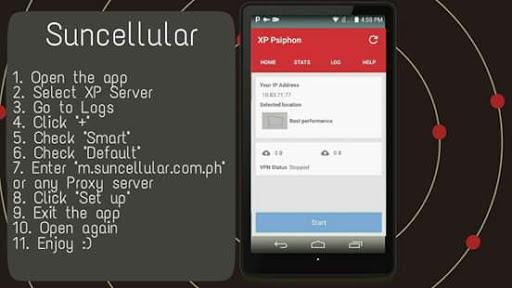Guide Psiphon Pro VPN 1.4 screenshot 1 ...