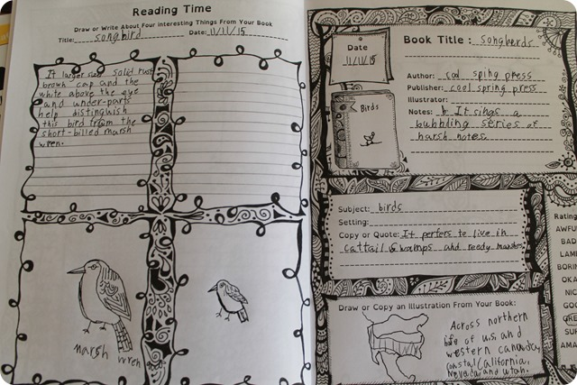 Reading Time Journal