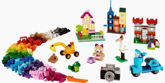 Lego Classic 10698 Thùng gạch lớn sáng tạo đem tới khả năng xây dựng là vô tận