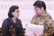 Semarakkan Harbolnas, Menko Airlangga Hartarto Minta Menkeu Sri Mulyani Cairkan Dana THR PNS H-10 Lebaran 2021