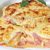 Receita de Lasanha de presunto e queijo