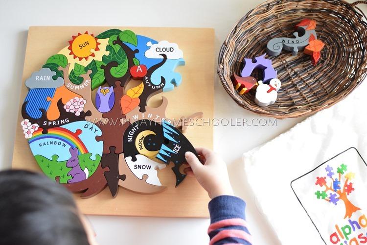Jigsaw Seasons Puzzle