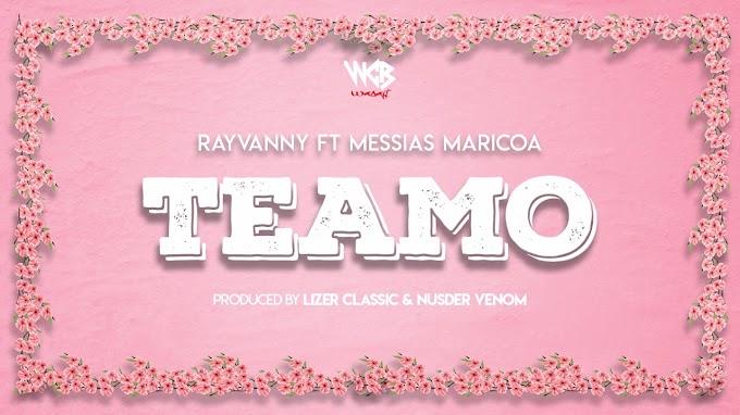 AUDIO | Rayvanny Ft Messias Maricoa – Teamo | Download new song