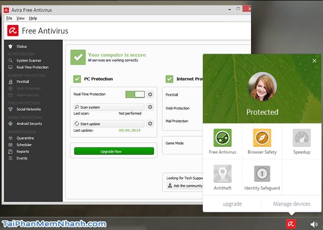 Giới thiệu phần mềm diệt virus Avira Free Antivirus