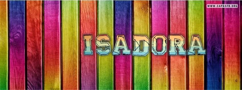 Capas para Facebook Isadora