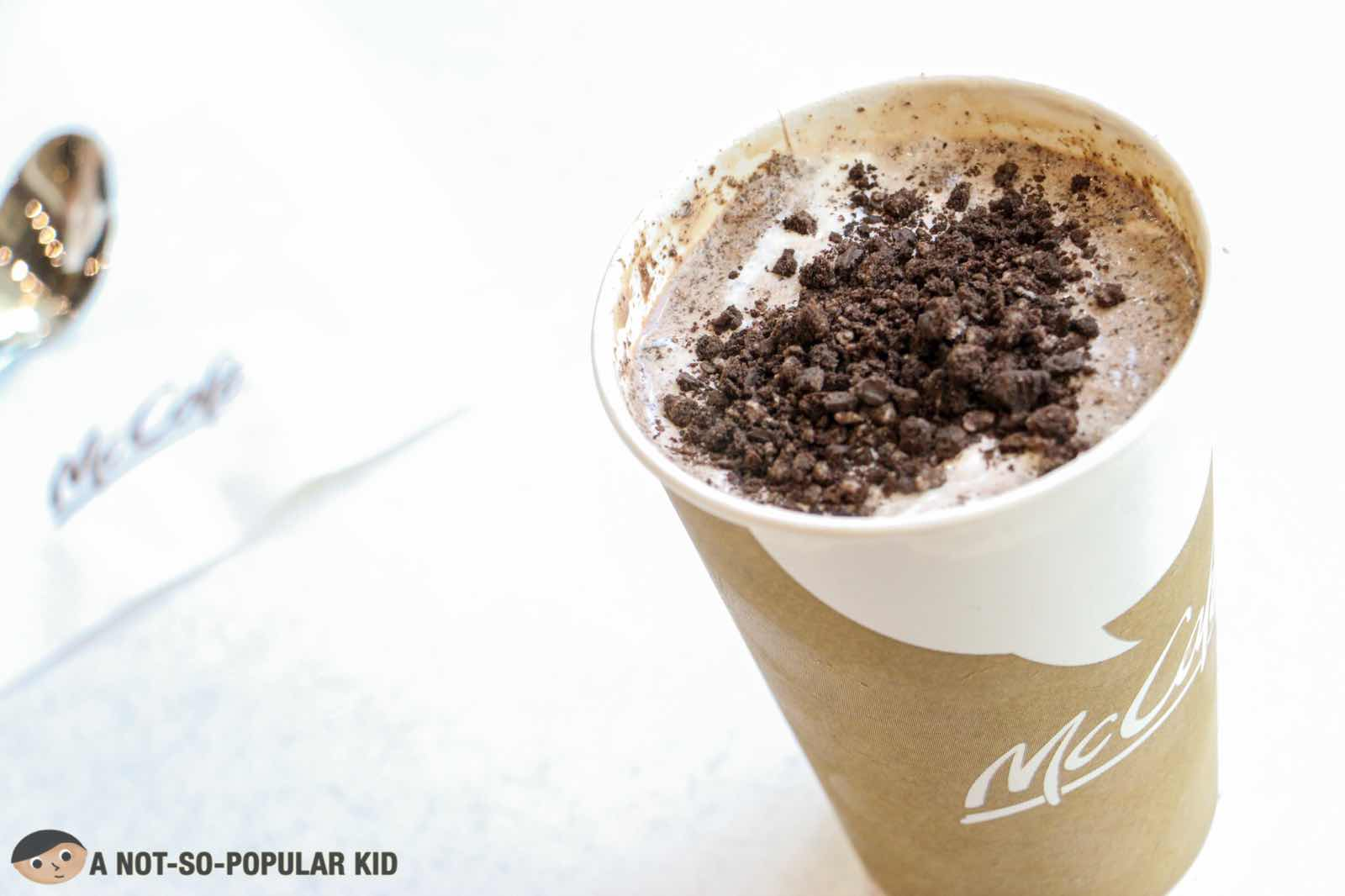 McCafe in Maybank Theater, BGC - a paradise for comfort!