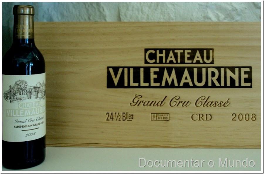 Château Villemaurine, châteaux Saint-Émillion, galerias suberrâneas Saint-Émillion