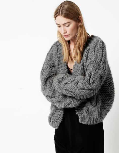 Pieces By Aideen Picking A Chunky Knit Cardigan Pattern