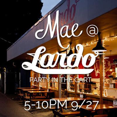 Mae @ Lardo on 9/27/2015