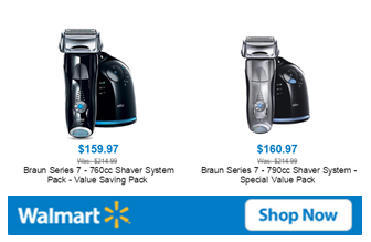 Walmart Deal Braun Shaver - Father's Day