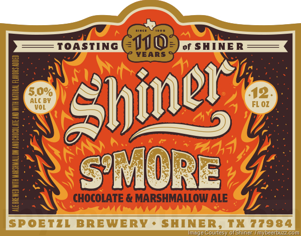 Shiner Celebrating 110 years With S'More