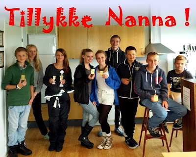 Tillykke til Nanna og dee andre seje HSS'ere