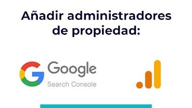 Añadir administradores a sus herramientas de webmaster