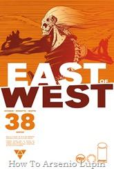 Actualización 25/10/2018: Se agrega el número #38 de East of West, por GinFizz para Prix-Comics y How To Arsenio Lupin. Soy la justicia, y estoy aquí para matar a tu hijo.
