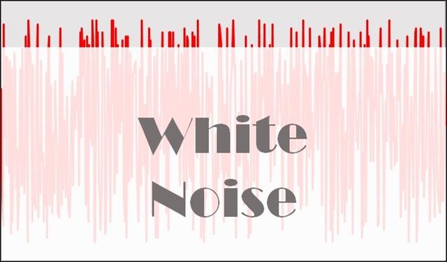 ホワイトノイズが他の騒音を遮る