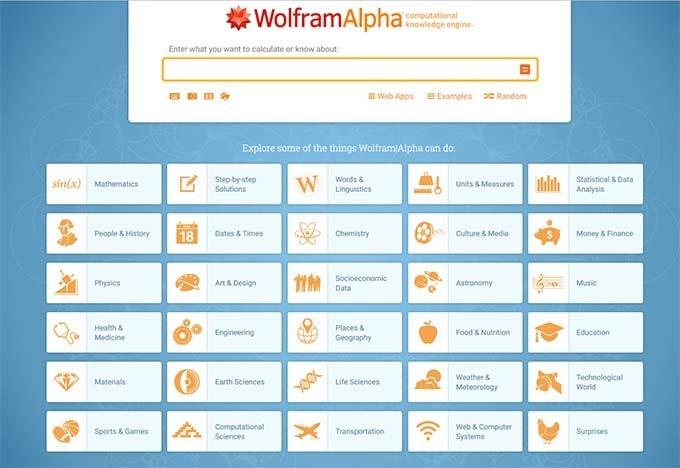 wolfrmalpha
