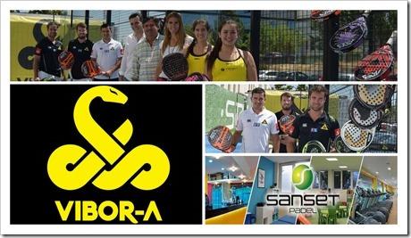 El Club Sanset Padel de Madrid inaugura una pista exterior 100% Vibor-A.