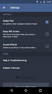 Remote for Roku - RoByte- screenshot thumbnail