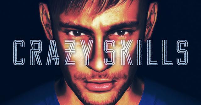 Neymar Jr. CRAZY SKILLS メインビジュアル