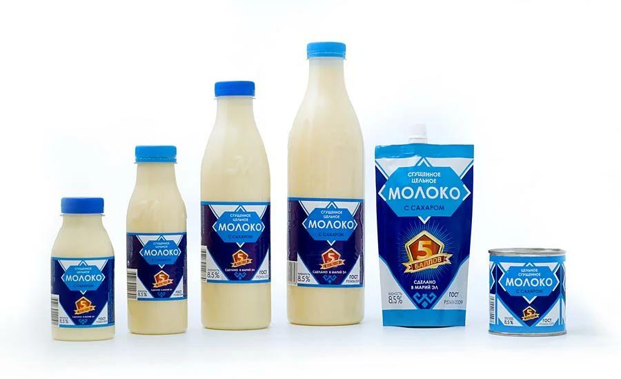 изготовление сгущенного молока на производстве