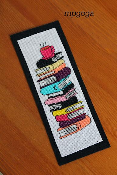 zakładka z książkami