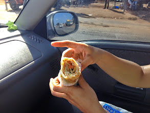 Photo: This is a Rolex. The most popular street food in Uganda.
