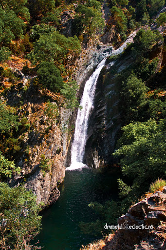 Samothraki Fonias river legend waterfall