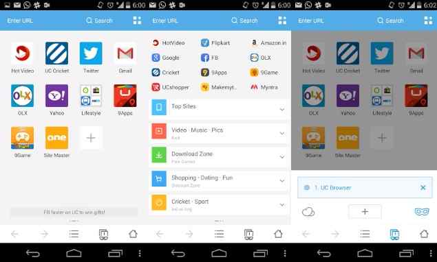 uc browser download for android mobile