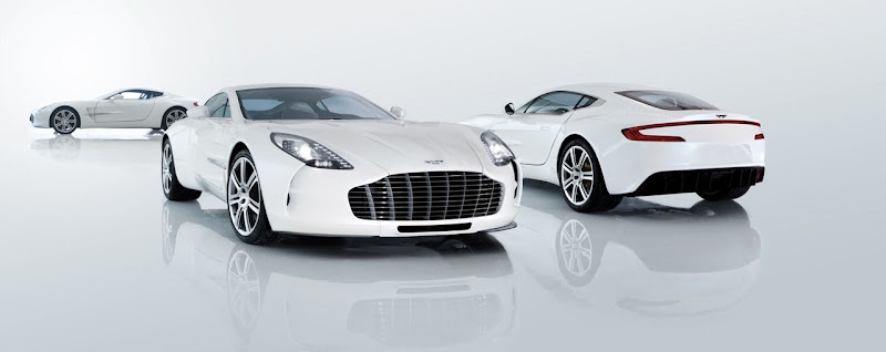 Aston Martin One-77  White Color HD Wallpaper